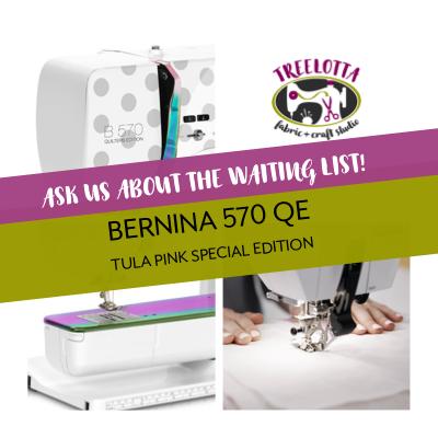 Bernina 570 QE SE Tula Pink