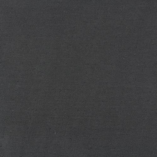Organic Double Gauze/Black (Birch Fabrics)