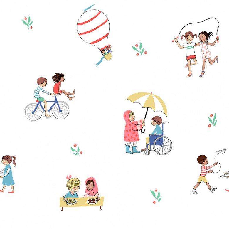 Be A Friend/White: Wonderful World (Sarah Jane)