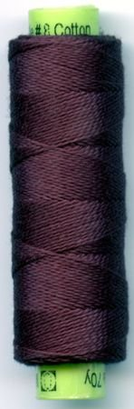 Eleganza #8 Perle Cotton/Black Berry (70yds)