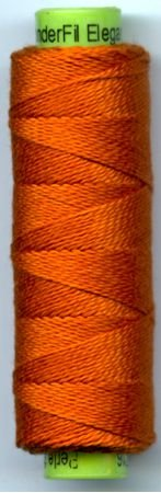 Eleganza #8 Perle Cotton/Welsh Poppy (70 yd)