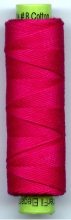 Eleganza #8 Perle Cotton/Let's Pink! (70 yd)