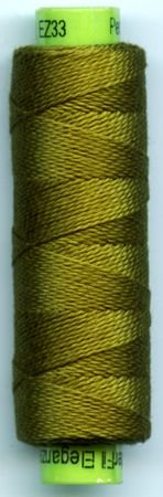 Eleganza #8 Perle Cotton/Lazy Lizard (70 yd)