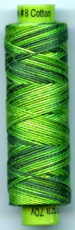 Eleganza #8 Perle Cotton/Fresh Cut Grass (70 yd)