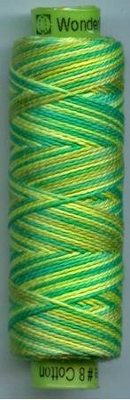 Eleganza #8 Perle Cotton/Lettuce Wrap (70 yd)