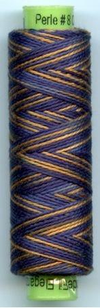Eleganza #8 Perle Cotton/In the Navy (70 yd)