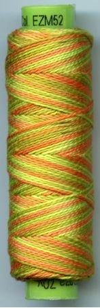 Eleganza #8 Perle Cotton/Citrus Zest (70 yd)