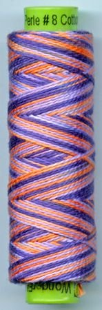 Eleganza #8 Perle Cotton/Wallflower (70 yd)