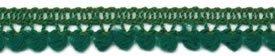 1/2 Mini Ball Fringe/Emerald