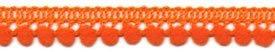 1/2 Mini Ball Fringe/Orange