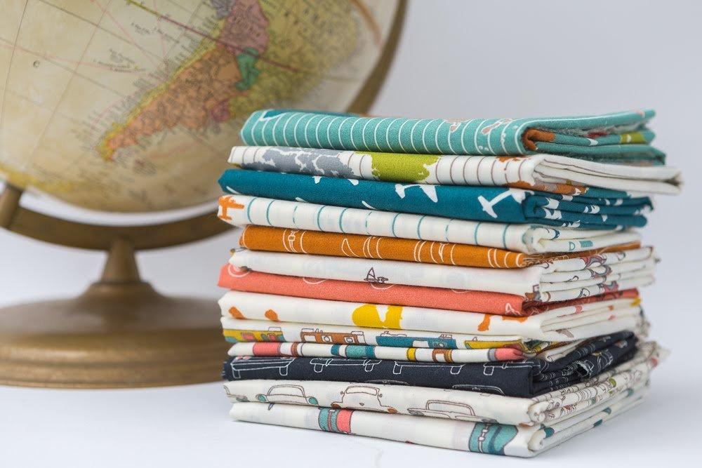 Transpacific FQB (Organic) (Birch Fabrics)