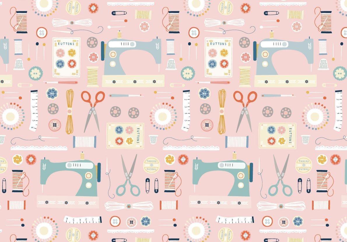 Sewing/Pink: Hobbies (Sally Payne)