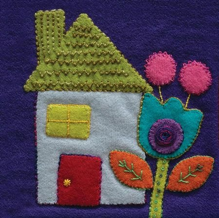 House/Colorway 4 Complete Kit (includes all threads and needles) Sue Spargo