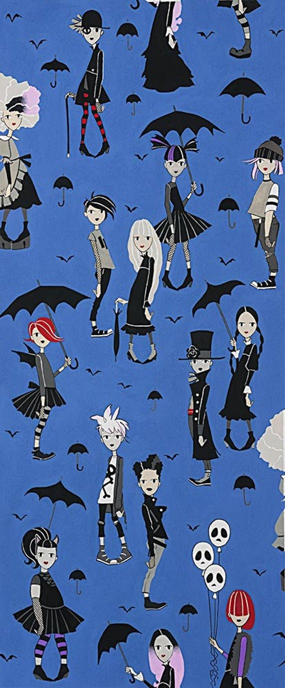 Going Goth/Blue: Haunted House (Alexander Henry)