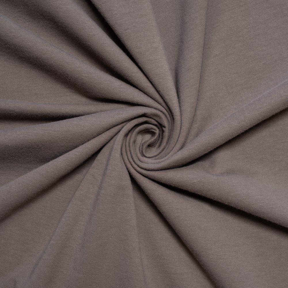 Organic Jersey Knit/Charcoal