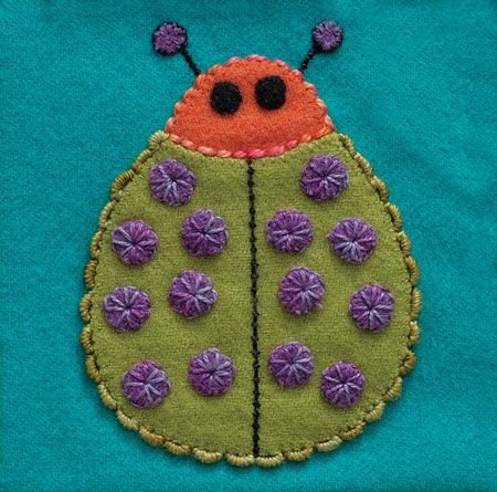 Ladybug/Colorway 4 Complete Kit (includes all threads and needles) Sue Spargo