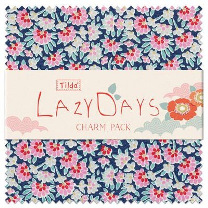 LazyDays Charm Pack/Multi (Tilda)