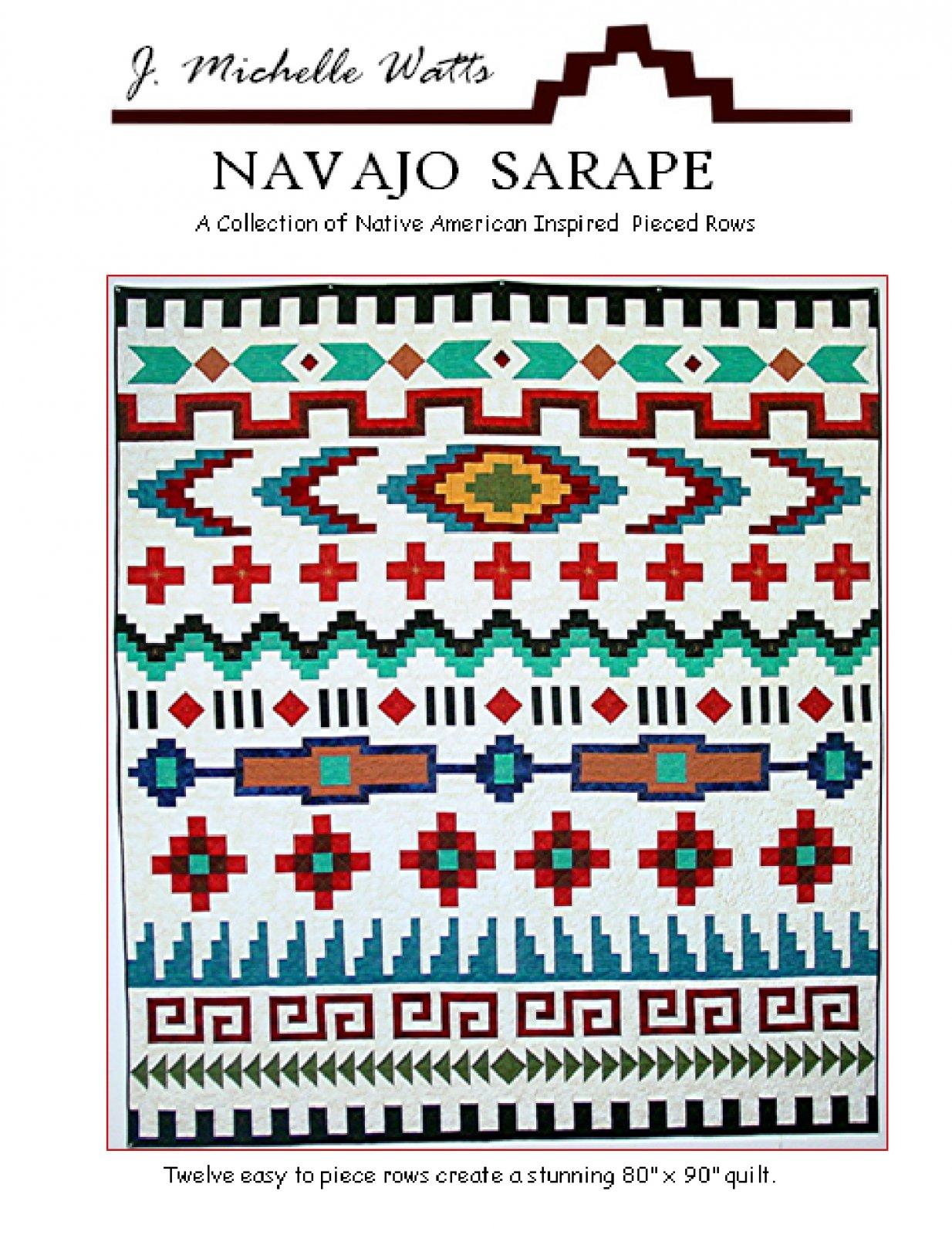 Navajo Sarape Quilt Pattern (J. Michelle Watts)
