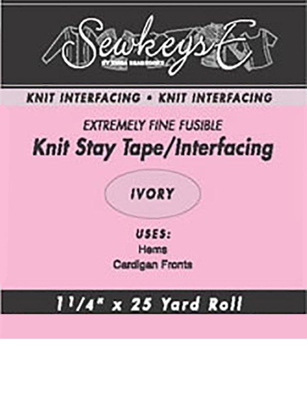 1 Knit Stay Tape /White (SewkeysE)