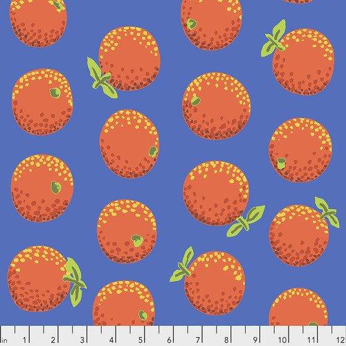 Oranges/Orange: February 2020 (Kaffe Fassett)