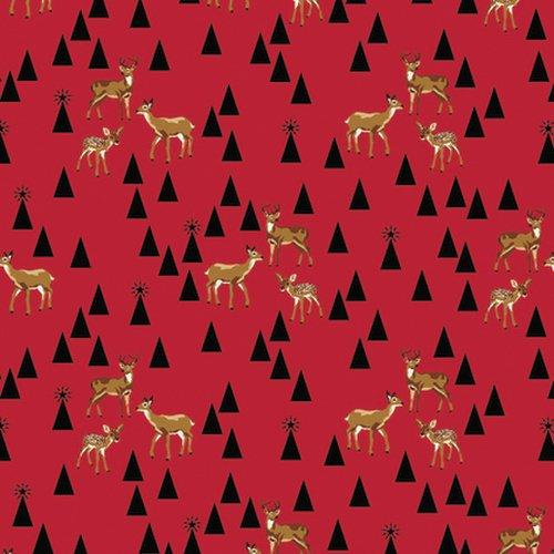 Bambi Life/Holly Berry (Holliday): Holiday Homies (Tula Pink)