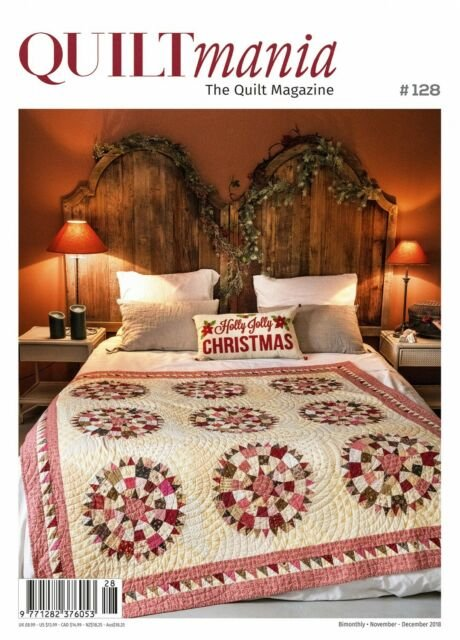Quiltmania magazine Issue 128