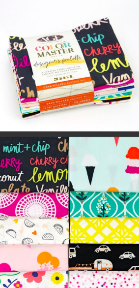 Curated FQ Bundles/Dana Willard: Designer's Palette Box