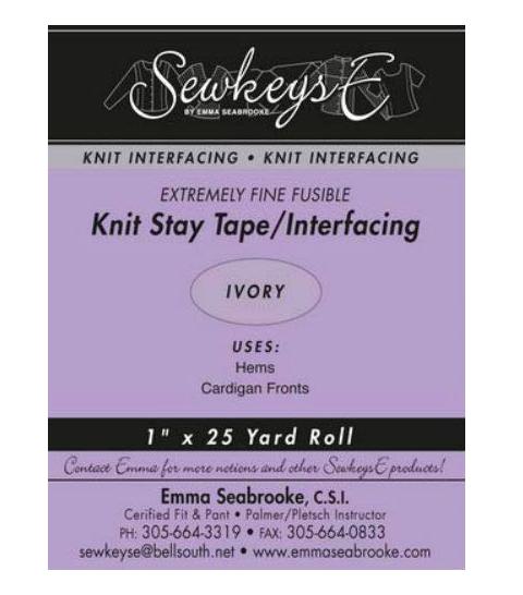 1 Knit Stay Tape - Ivory (SewkeysE)
