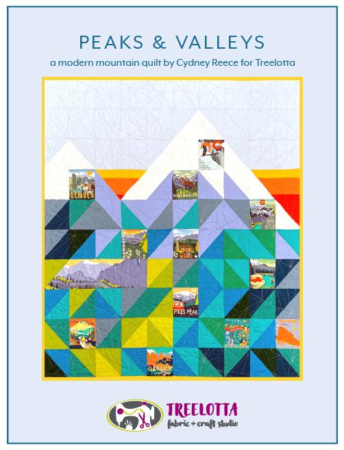 Peaks & Valleys Quilt Kit (Cydney Reece)