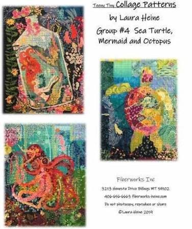 Teeny Tiny #4 Collage Kit/Mermaid (Laura Heine)