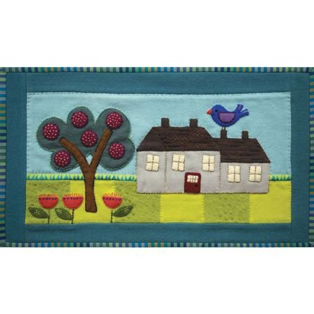 House Table Runner Kit (Incl. all threads) (Sue Spargo)