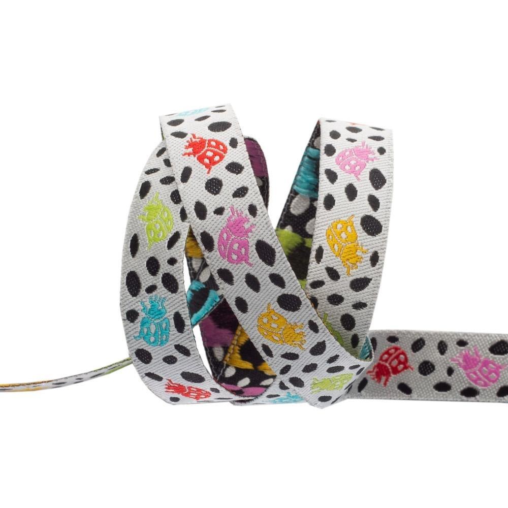 Spots on Spots/Mango  (1/2 Ribbon): Monkey Wrench (Tula Pink) (R