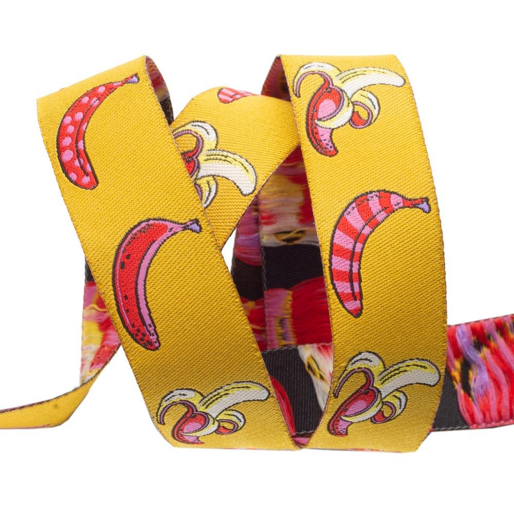 Don't Slip/Mango (7/8 Ribbon): Monkey Wrench (Tula Pink) (R