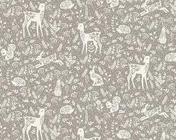 Animals/Grey: Clara's Garden (Makower)