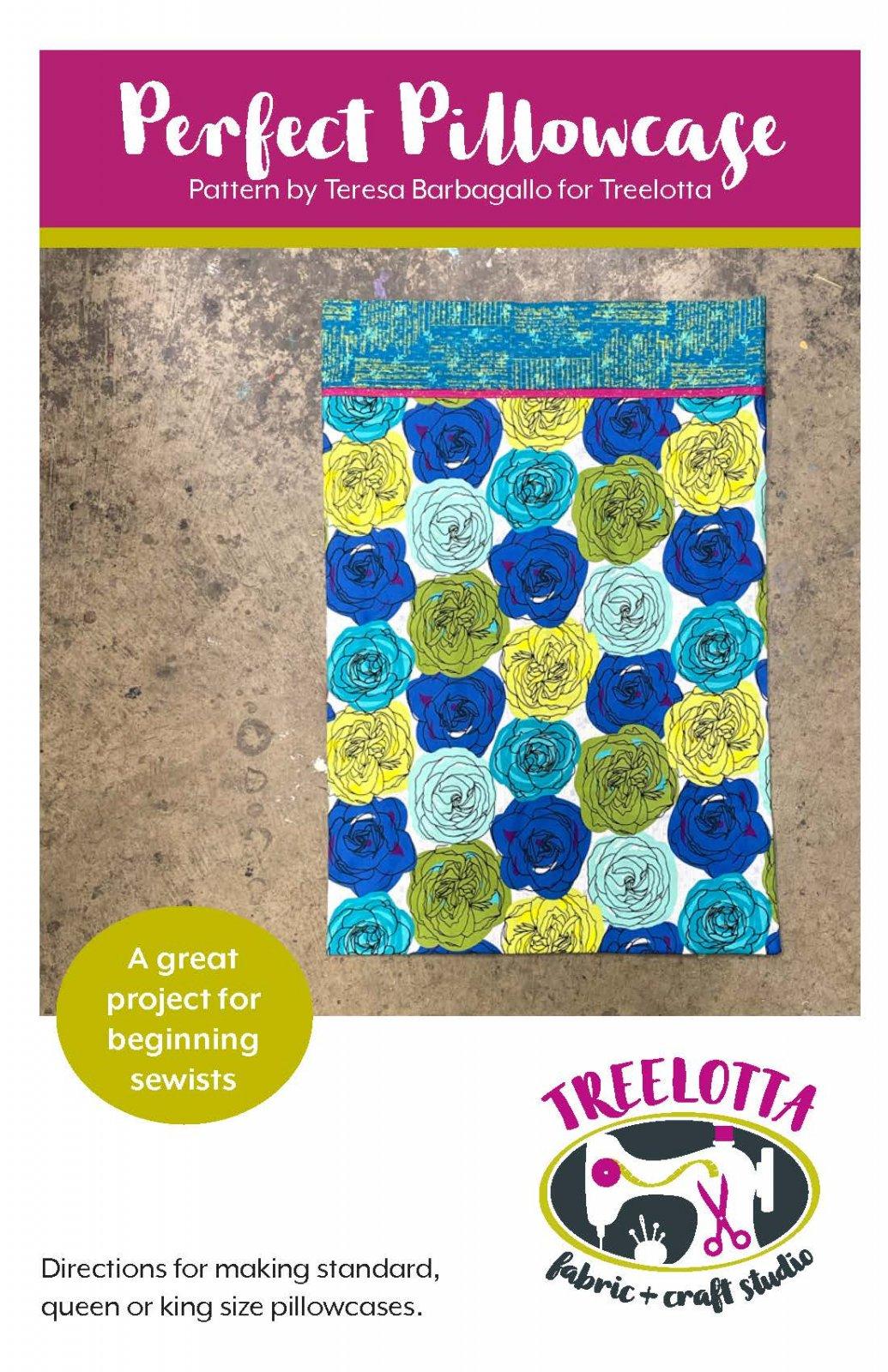 Perfect Pillowcase Pattern/Printed (Treelotta)