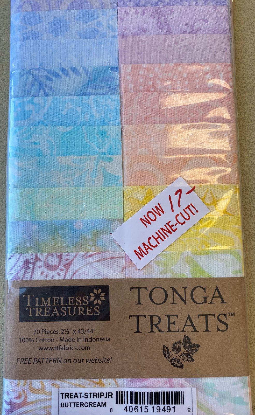 Buttercream Tonga Treats Strips