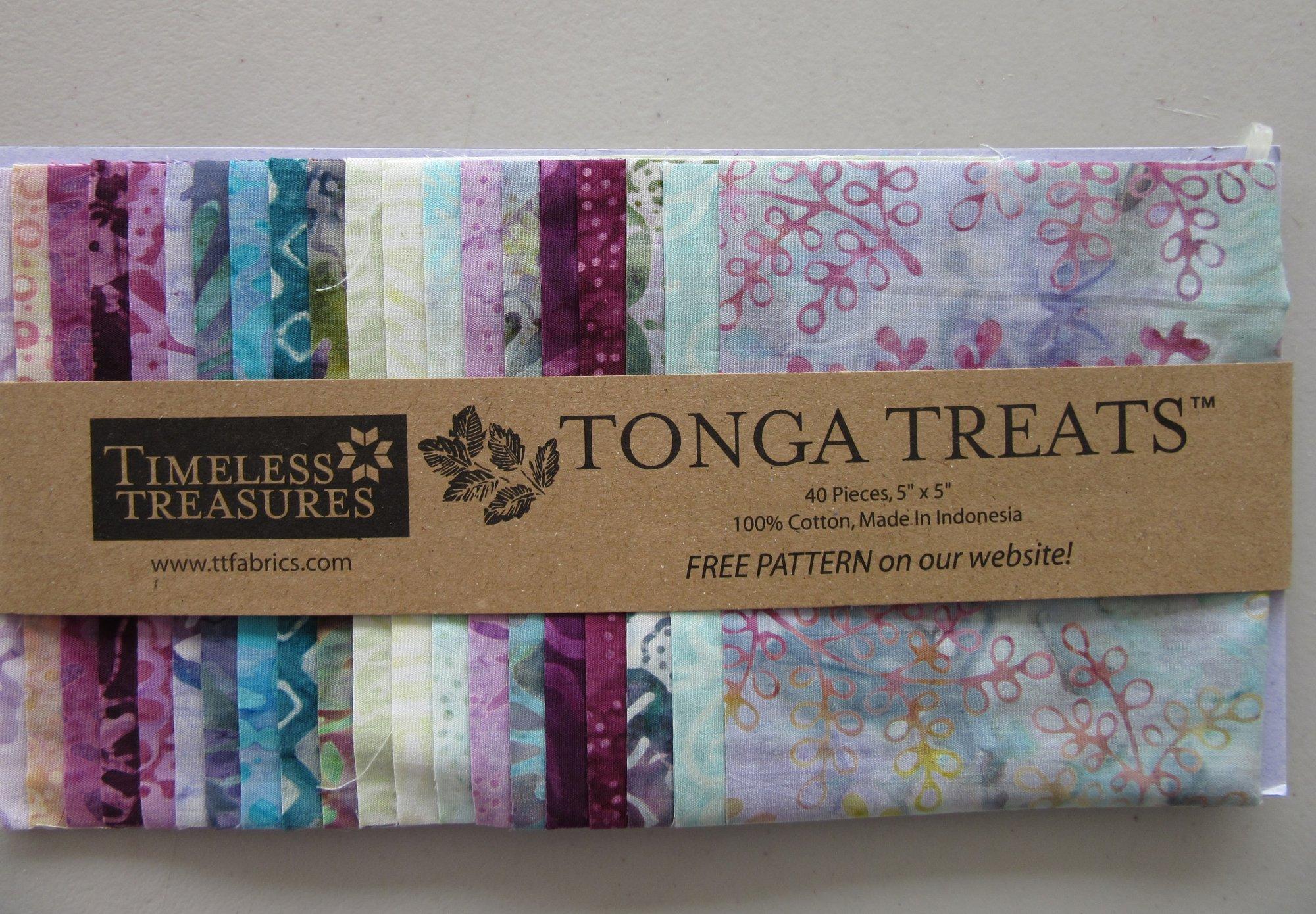 Dahlia Tonga Treats Charm Pack