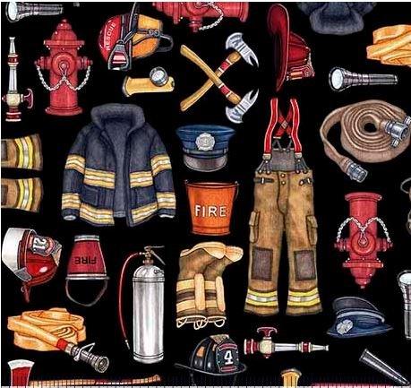 Firefighter Equipment-black