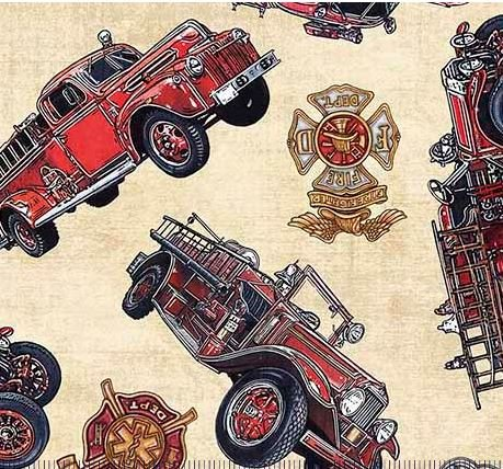 Firetrucks & Shields-cream