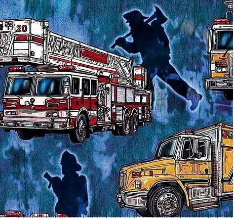 Firetrucks-blue