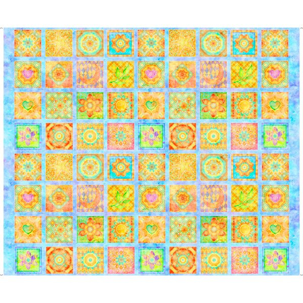Flower Patches Panel