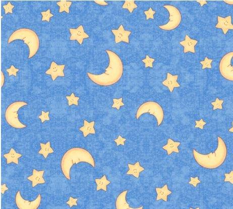 Moon & Stars-Blue