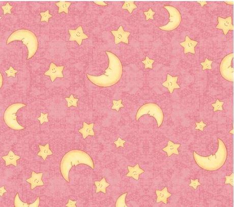 Moon & Stars-Pink