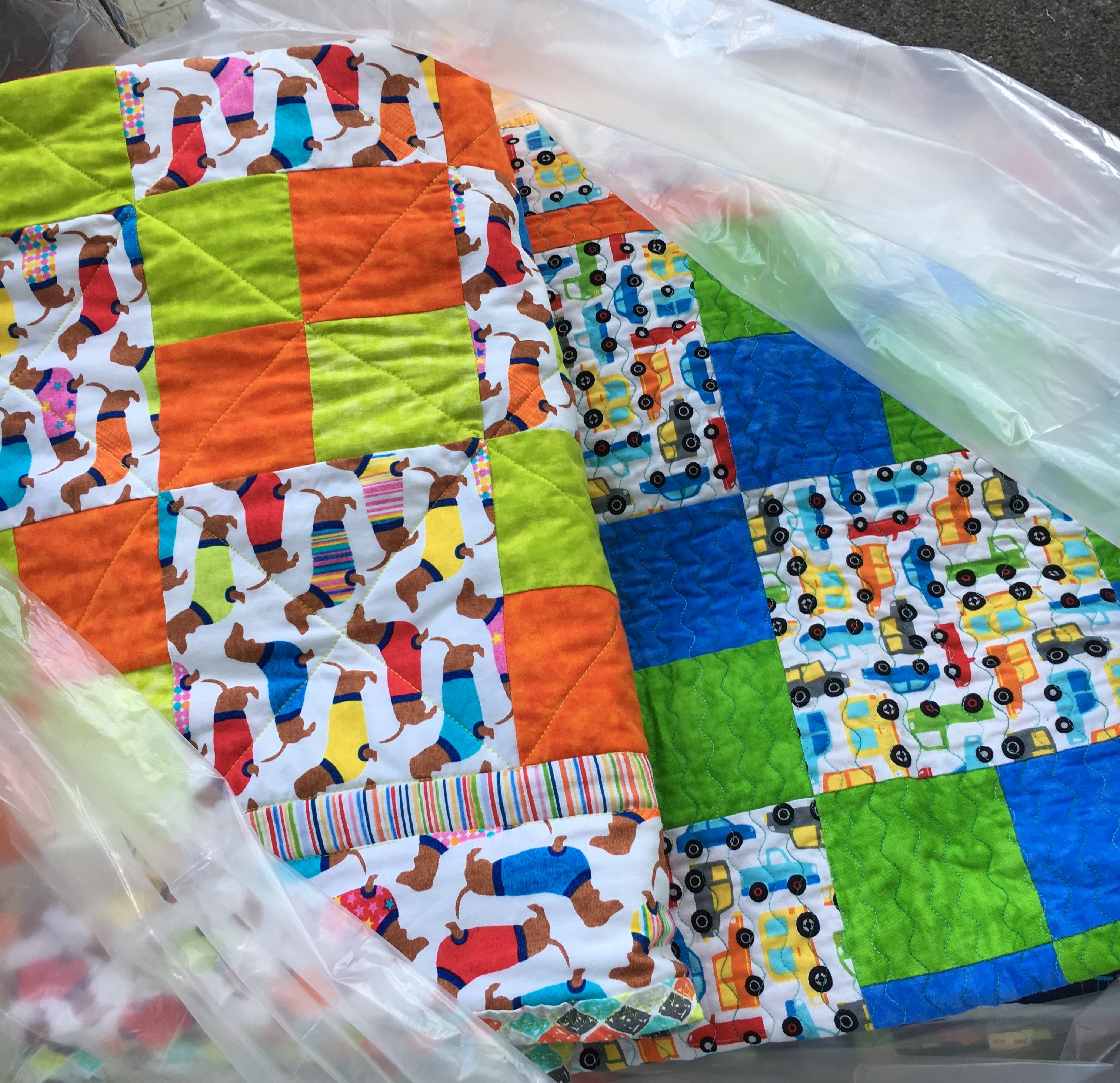 Falls township of bucks county pa appreciates quilts for kids
