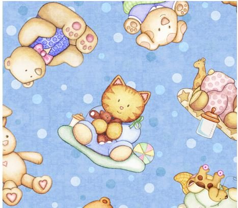 Baby Animals-Blue