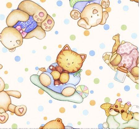 Baby Animals-Cream
