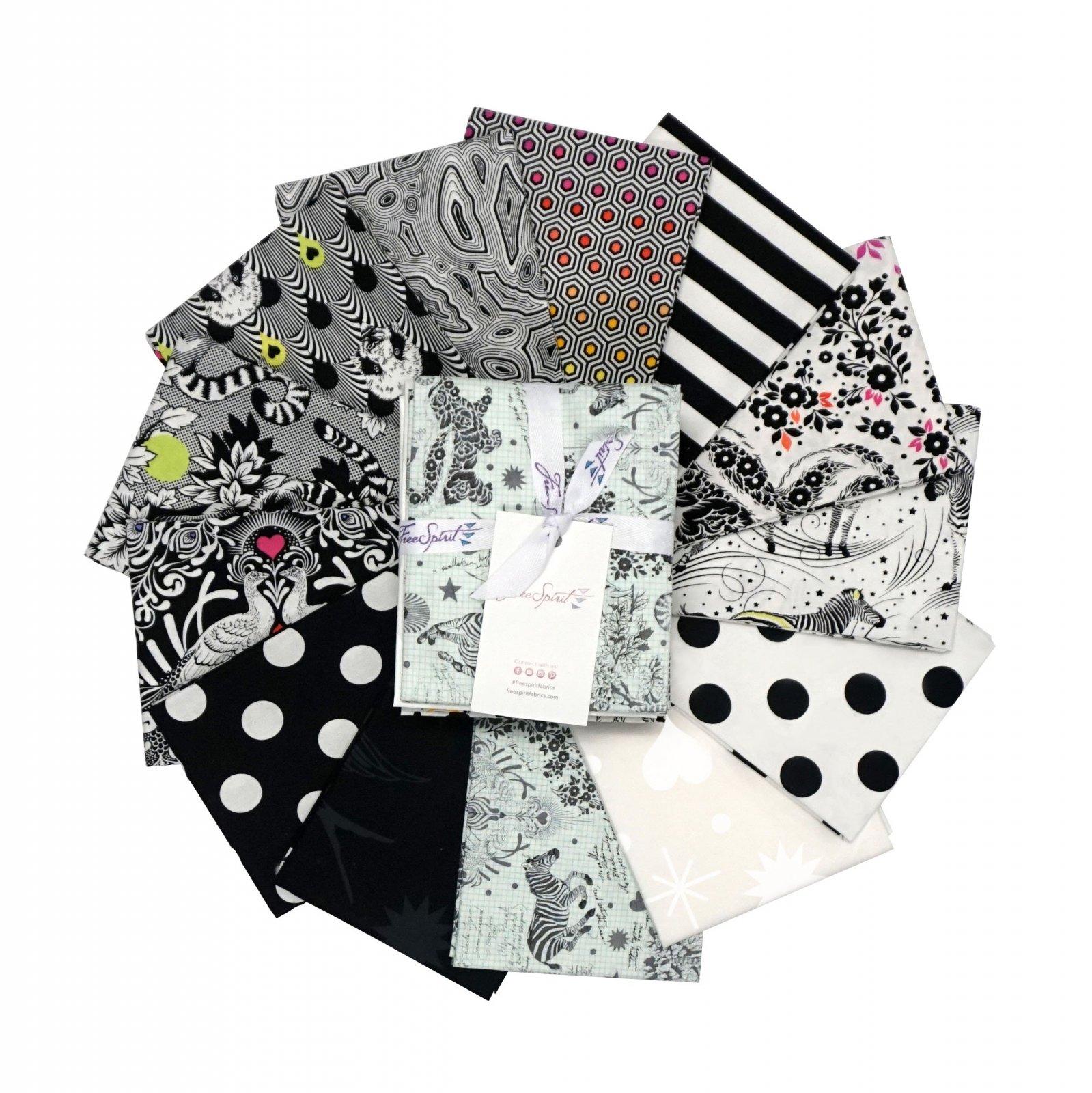 Tula Pink - Linework - Fat Quarter Bundle of 13