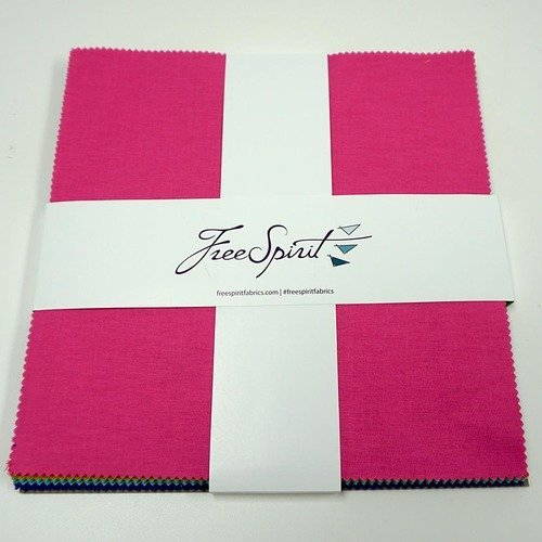 Tula Pink - Essentials Solids - 10 Squares - Layer Cake of 42