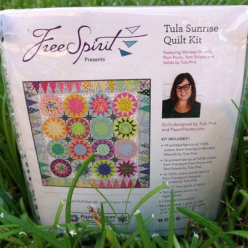 Tula Pink - Monkey Wrench - Sunrise Quilt Kit