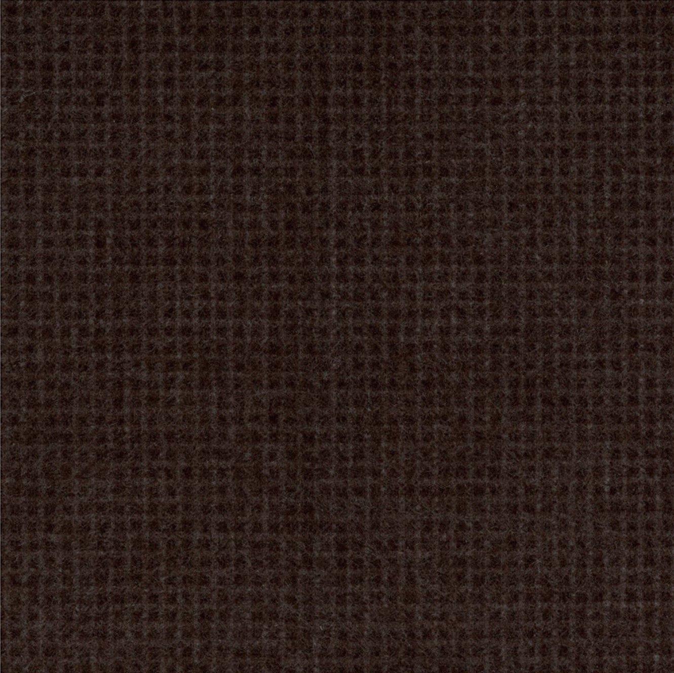 Woolies Flannel Tiny Windowpane Black (MASF18123-K)